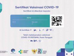 Cara Download Sertifikat Vaksin COVID-19 ke-1 dan 2 di PeduliLindungi