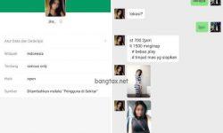 Prostitusi Online Lewat Michat di Tangerang Dibongkar Polisi